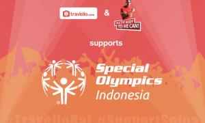 Travelio.com dan Ade Rai Bekerjasama Untuk Mendukung Atlit Special Olympics Indonesia