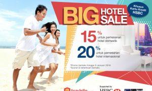 Promo Kartu Kredit HSBC: Diskon Up to 20% di Travelio.com