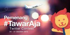 Pemenang Kontes #TawarAja di Twitter