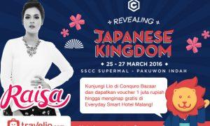 "Kunjungi Booth Travelio.com di ""Conquro Bazaar Revealing: Japanese Kingdom"", Surabaya"
