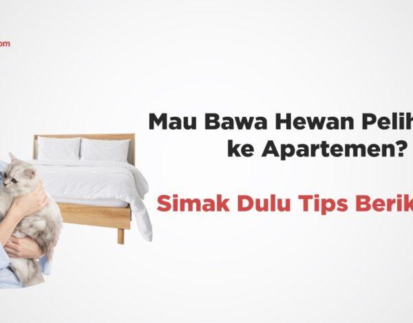 Mau Bawa Hewan Peliharaan ke Apartemen? Simak Dulu Tips Berikut Ini