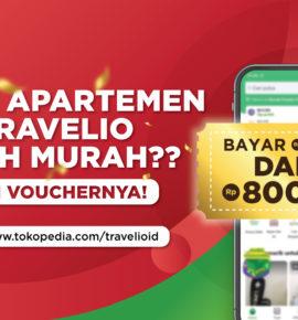 Sewa Apartemen Super Murah Pakai Voucher Travelio