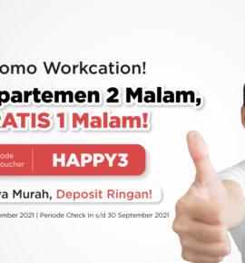 Workcation di Apartemen: Liburan Aman bagi Pekerja WFH saat PPKM
